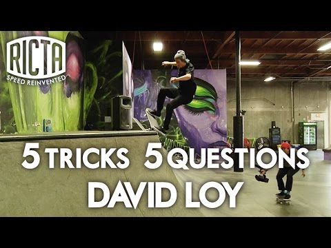 David Loy Shreds Nyjah's Park and Talks about Head Lice in his 5&5 for Ricta Wheels