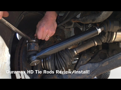 PPE HD Tie Rods Full Install 01-10 GM/GMC 2500