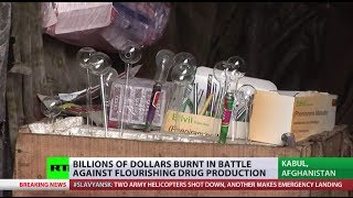Record High: (Afghanistan) struggles to tackle drug addiction, production  5/2/14
