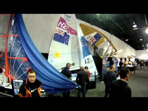 Weta Tour of Sailing Central at the Hutchwilco New Zealand Boat Show 2013