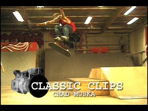 Chad Muska Skateboarding Classic Clips #99