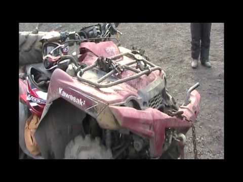 Trevorton 2013 ~ Quad Wreck