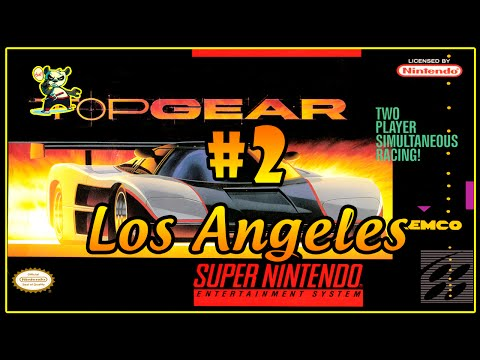 Super Nintendo - Top Gear - 2# - Los Angeles