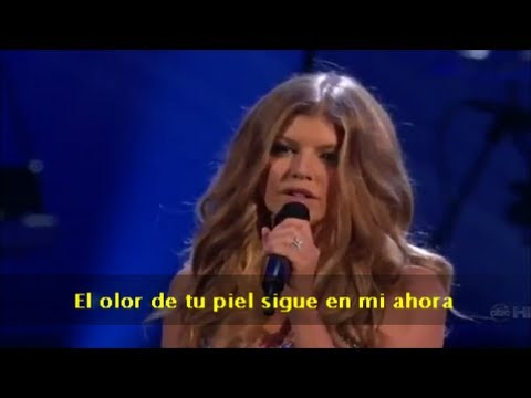 Fergie – Fergalicious/Clumsy & Big Girls Don't Cry (Subtitulado en español) (Live)