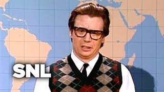 Mike Myers As Scottish Reporter - Saturday Night Live