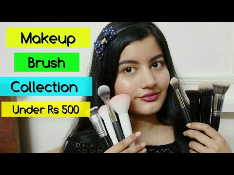 Affordable Branded Makeup Brushes - PAC, Colorbar, Pro Arte, Miniso #FestiveSeries