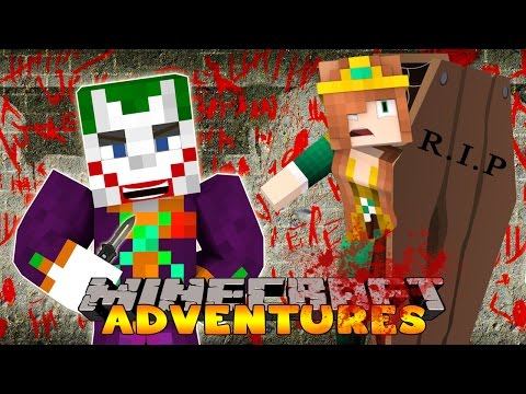 Minecraft-Little Carly Adventures-CAPTURED BY THE JOKER?