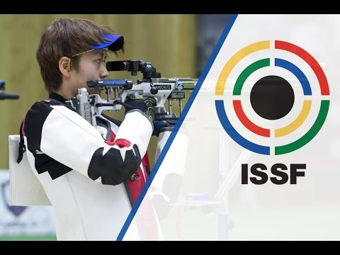 Interview with CHEN Dongqi (CHN) - 2015 ISSF Rifle, Pistol, Shotgun World Cup in Gabala (AZE)