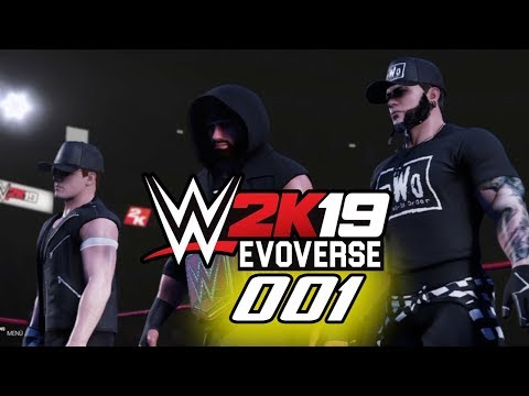 Evoverse is the Universe, that Evo2k BUILT! | WWE 2k19 Evoverse #001