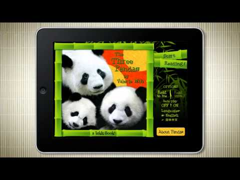 The Three Pandas Animated Storybook for iPad & iPhone - available now!