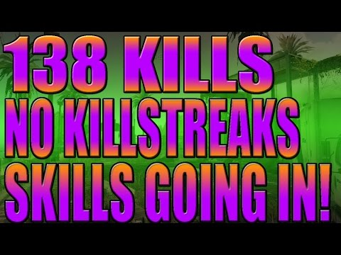 138 Kills No Killstreaks Skills Going In!(call Of Duty Ghosts Gameplay) video