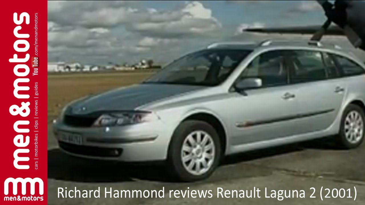 Richard Hammond Reviews Renault Laguna 2  2001