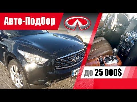 #Подбор UA Zaporozhye. Подержанный автомобиль до 25000$. Infiniti FX35.