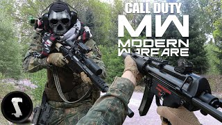 MODERN WARFARE in REAL LIFE!! (2v2 Gunfight Airsoft)