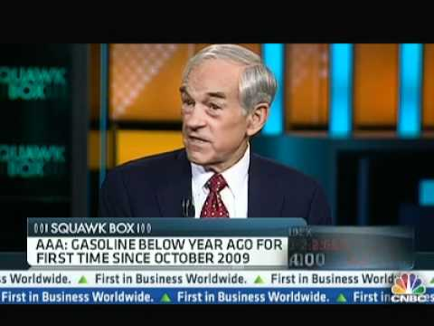 Ron Paul on Presidential Politics CNBC Squawk Box 4/23/12