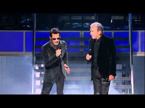Marc Anthony y Jose Luis Perales, Y Como Es  El ,en vivo 2010 HD 1080 p. Music Videos