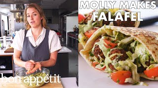 Molly Makes Fresh Herb Falafel | From the Test Kitchen | Bon Appétit