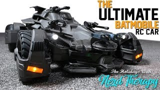 The Ultimate Batmobile RC Car !!! Holidays With Nerd Therapy