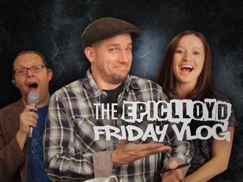 EpicLLOYD's -  Hopefully It's Friday Vlog #1 - Valentine's Day & ERB Update