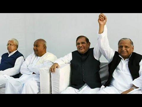 Janta Parivar merger on track, assure Nitish Kumar, Lalu Prasad