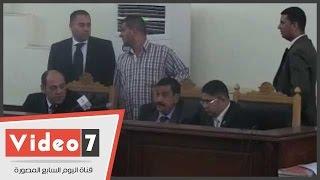 بالفيديو.. تأجيل إعادة محاكمة 16 متهما بـ