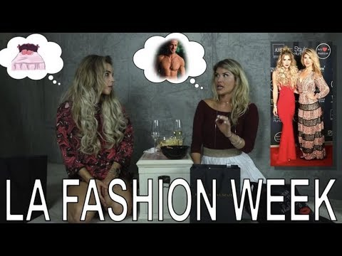 Best Moments from Fashion Week Los Angeles 2017  | RECAP & SWAG REVEAL