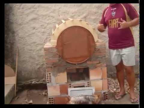 Como fazer um forno a lenha caseiro