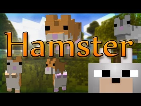 Minecraft Mods - Hamster 1.4.4 Review and Tutorial ~ Cute little things
