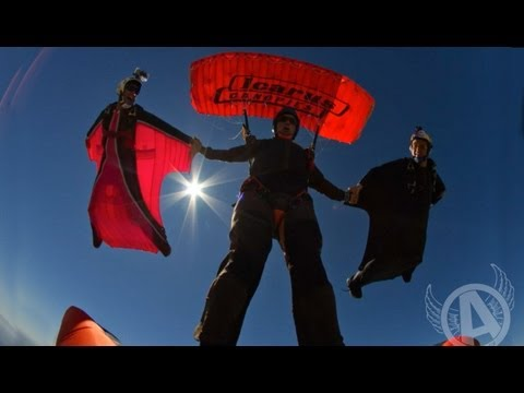 Adventures With Aviator - Epic XRW Skydive Stunt -- Must See!!