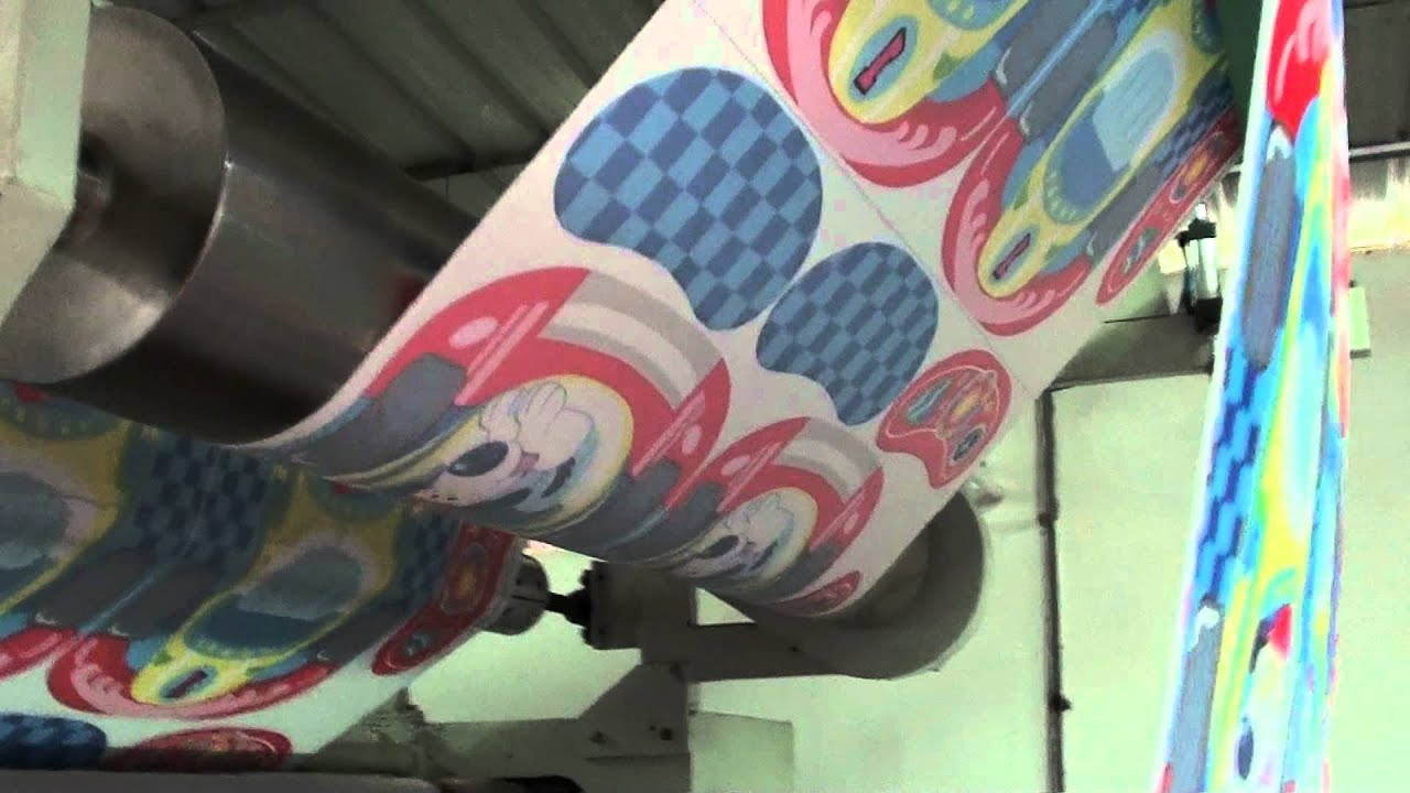 Gogopress Sublimation Textile Printing Machine By Rotary