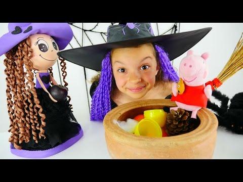 Маленькая ведьмочка Кати - Принцесса Свинка Пеппа - Видео для детей