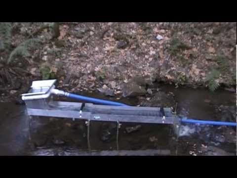 Power Sluicing with Our Custom South Yuba part1
