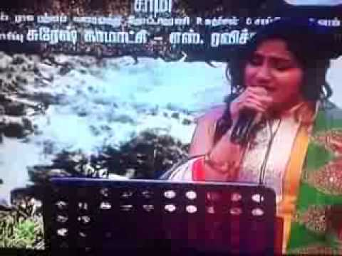 Penjaakaa Mazhai Thuli Kangaroo Performance By Swetha Mohan video