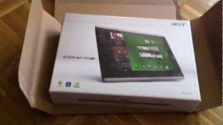Acer Iconia Tab A500 Tablet 32GB (25,6 cm (10,1 Zoll) Touchscreen-Unboxing-Episode Folge 19