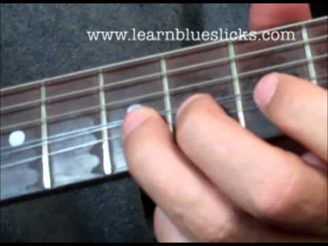 Larry Carlton Style A-Blues Lick