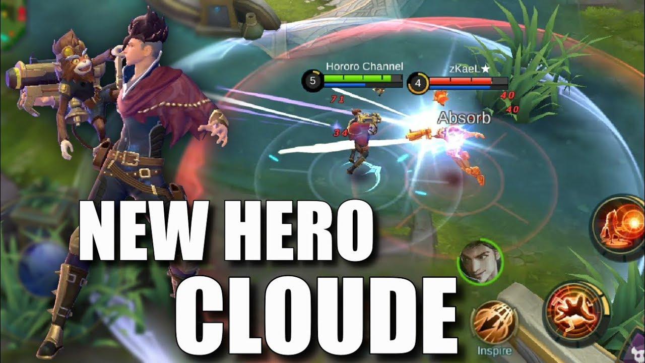 NEW HERO CLAUDE AND HIS PARTNER DEXTER