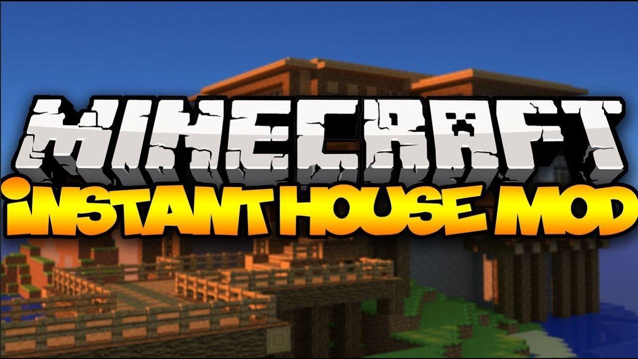 Minecraft Instant Houses