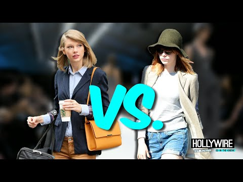 Taylor Swift Vs. Emma Stone: Who Wore It Better!? (Fresh Trend Showdown)