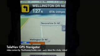 TeleNav GPS Navigator