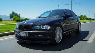 BMW E46 Alpina B3 3.3 Test Sürüşü / E36 M3 Motoru ile tam bir Sleeper