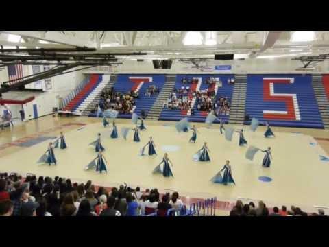"""Lynbrook High School Winter Guard 2013 """"22"""""""