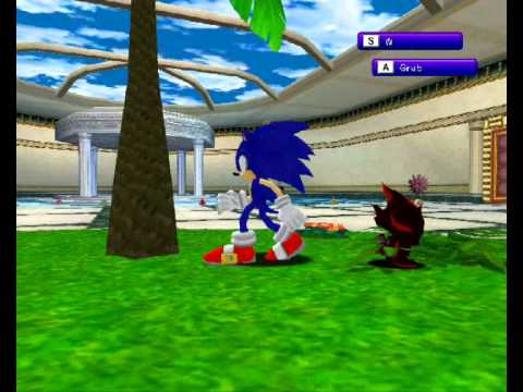 OMG Sonic Chao and Shadow chao and Super Sonic Chao On SADX
