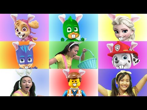 Disney Princess GIANT SMASH Toy Game Show with Paw Patrol Skye