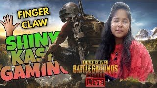 WE ARE BACK 5 FINGER CLAW | PUBG MOBILE LIVE | GIRL GAMER