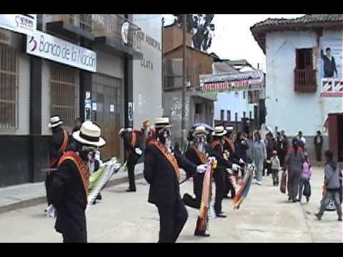 Cuadrilla de Jijas de la Fam. Caballero C�spedes. 2013: 2014. Llata, Huamal�es, Hu�nuco, Per�.