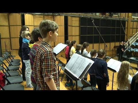 French children bring Great War songs back to life