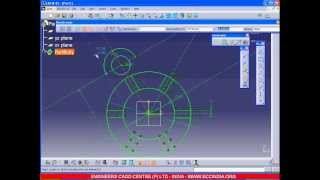 CATIA SKETCH EXERCISE WITH VOICE