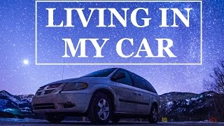 LIVING IN MY CAR - DAY 1 - CALGARY TO INVERMERE