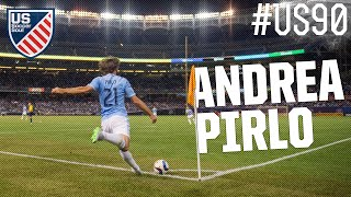 Andrea Pirlo NYCFC MLS ● #US90 ● US Soccer Soul | HD
