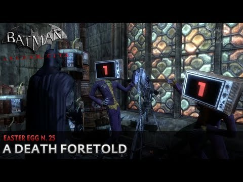 Batman: Arkham City - Easter Egg #25 - A Death Foretold